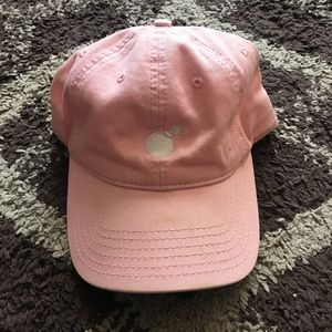 The Hundreds Pink/White Bomb Adjustable Cap/Hat OS